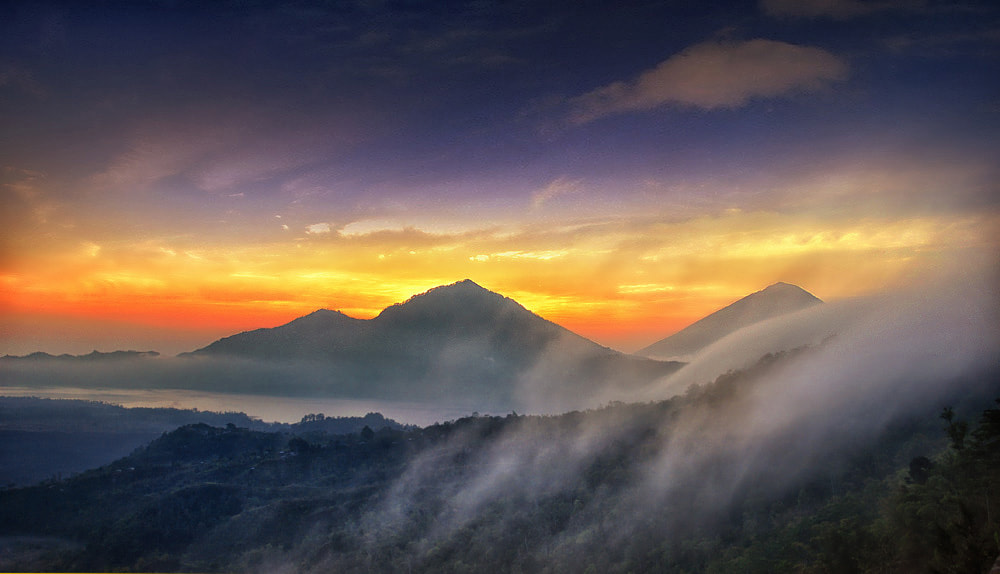 Photograph Morning in Kintamani by mang nick on 500px