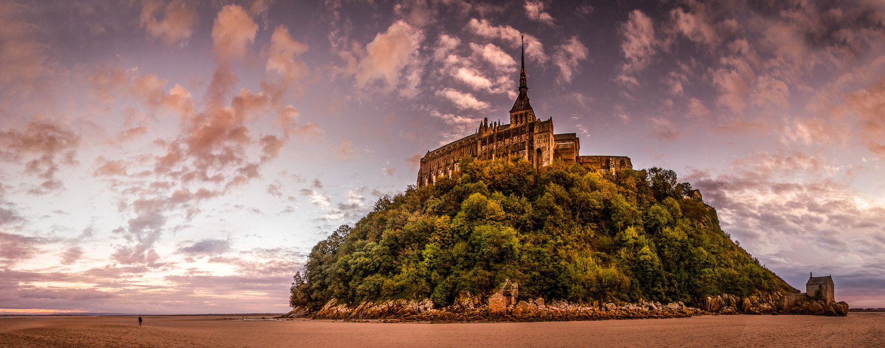 Photograph Panorama Mont Saint Michel by Ramelli Serge on 500px