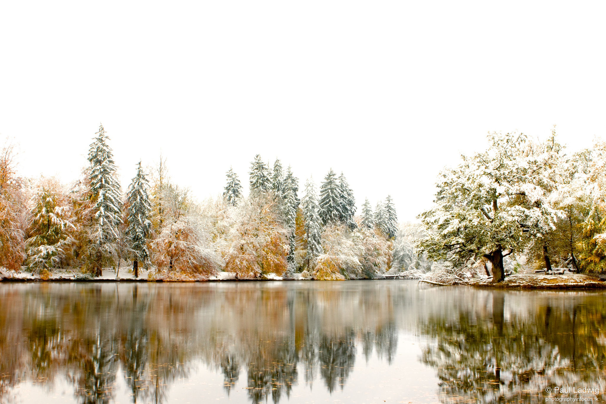 Photograph Lake in Winter II by Paul Ladwig on 500px