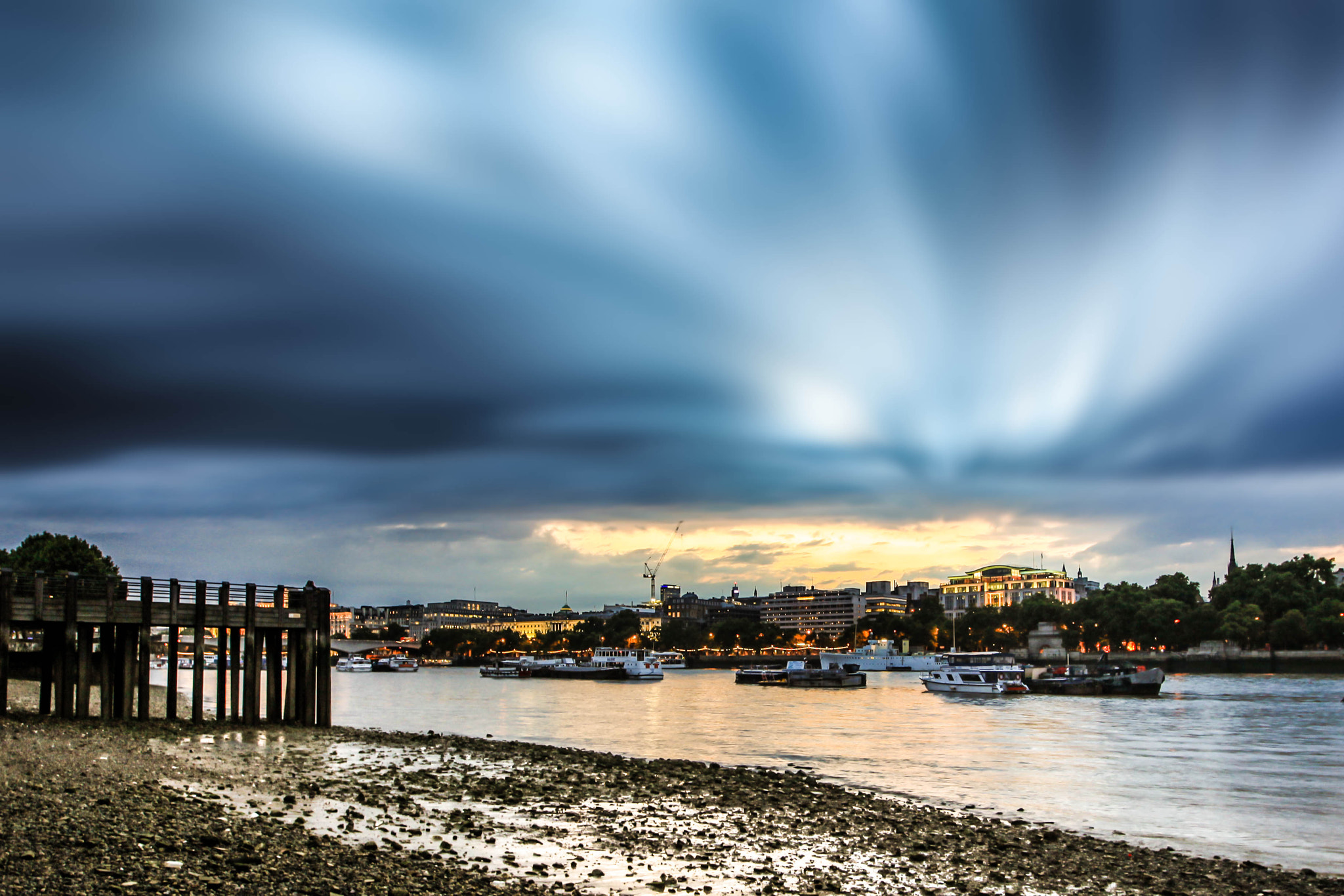 Photograph Storm Approaching London by David Turney on 500px