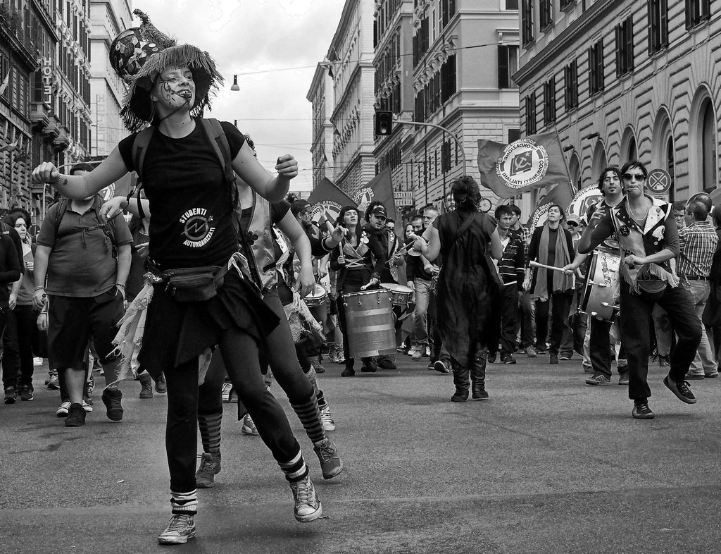 Photograph Street demonstration 3 by Giuseppe Grimaldi on 500px
