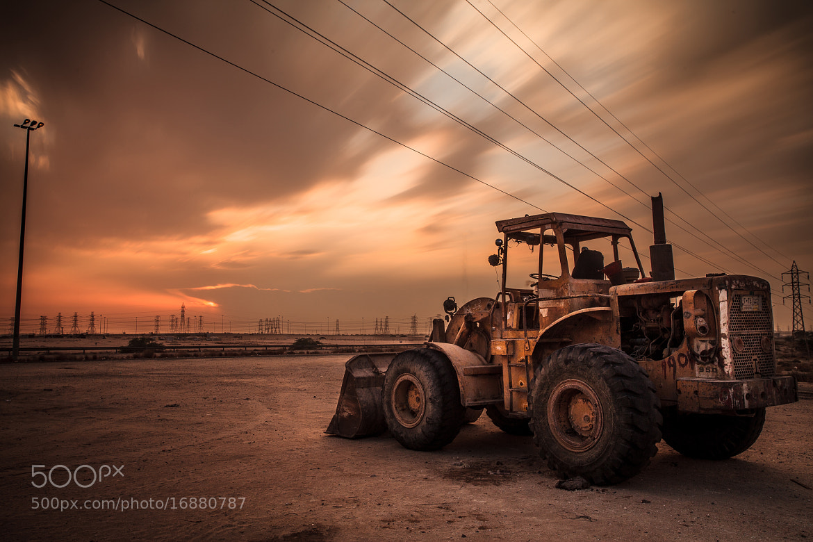 Photograph Abandoned by Fahad Al-Thekair on 500px