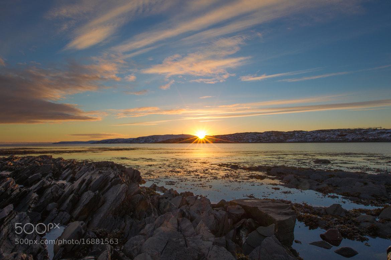 Photograph Arctic Winter Sunset by Alonza  Garbett on 500px