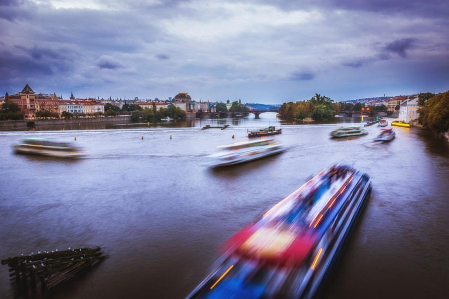 Rush hour in the Vltava I