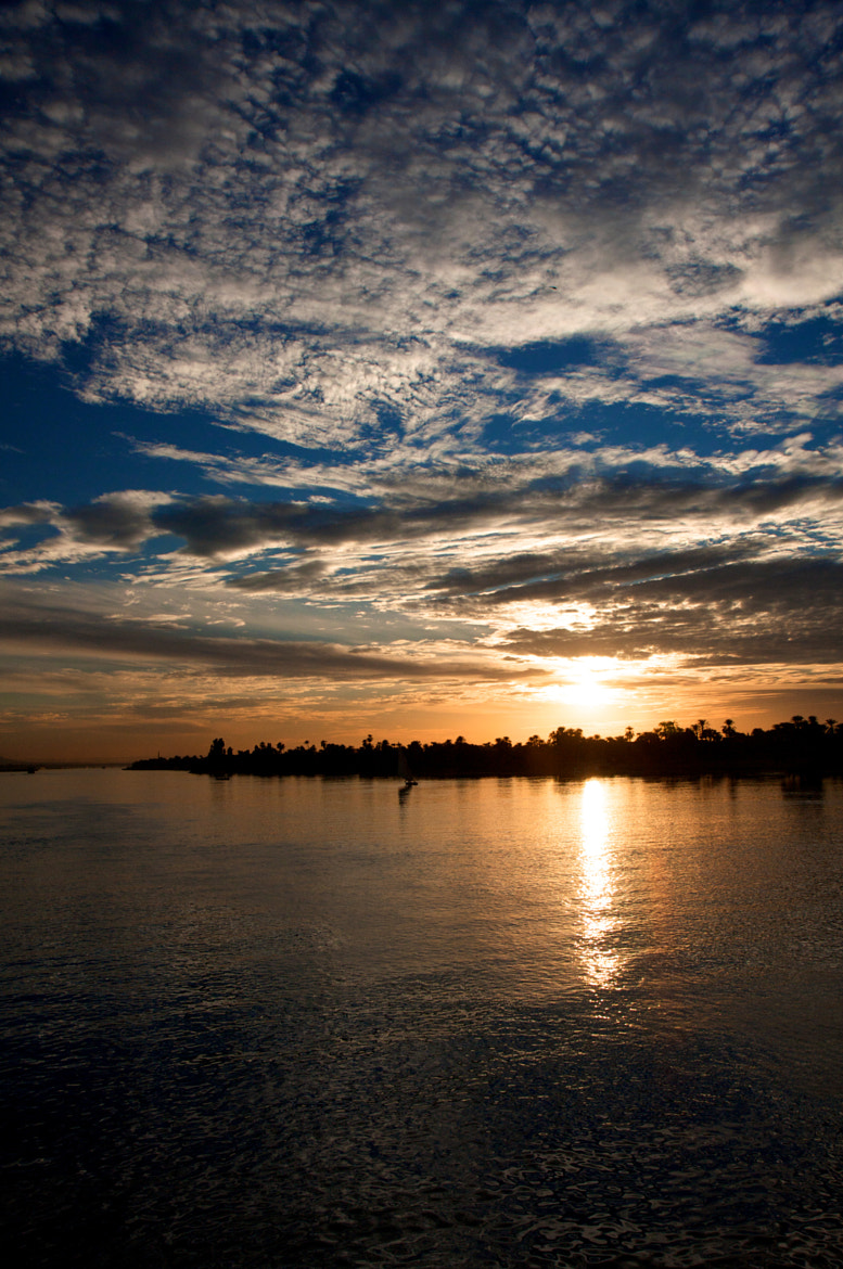 Photograph Sunset over the Nile by Derek Yuen on 500px