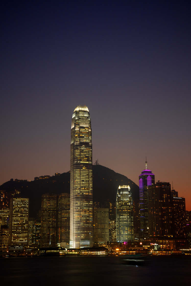 Photograph IFC One and Two by Derek Yuen on 500px