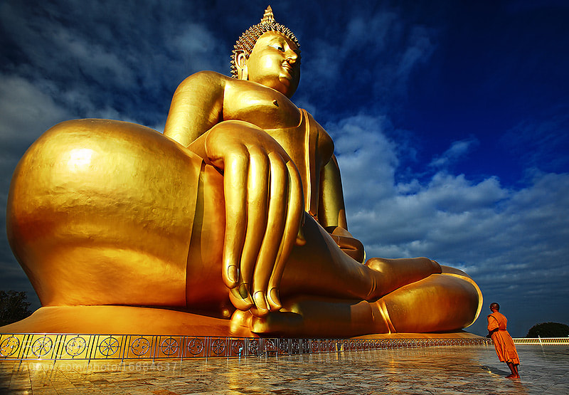 Photograph Path of Buddhist by mhucool wattana on 500px