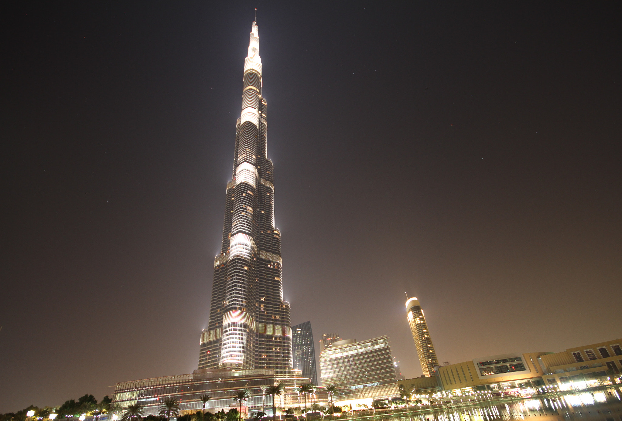 Photograph Burj khalifa in midnight by THE TOKYO FOREST on 500px