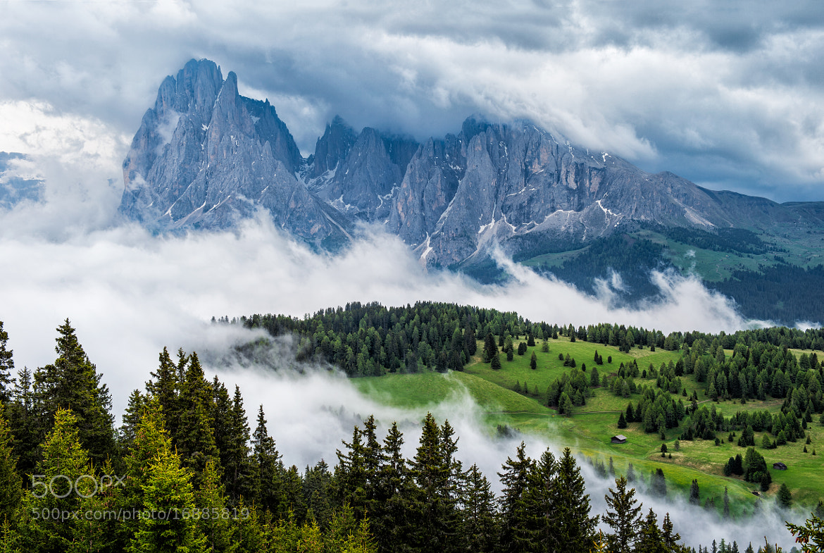 Photograph Cloudy Dolomites by Marcellian Tan on 500px