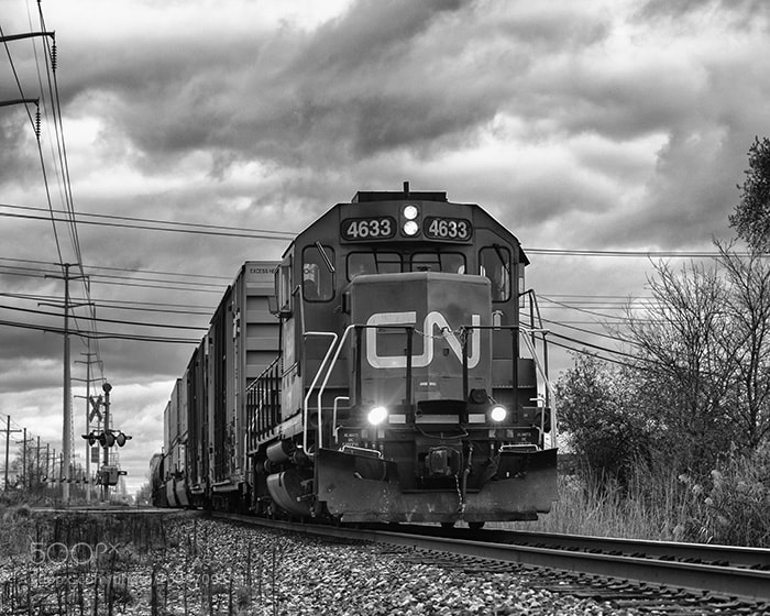 Photograph Just A Train. by Ed Hall on 500px