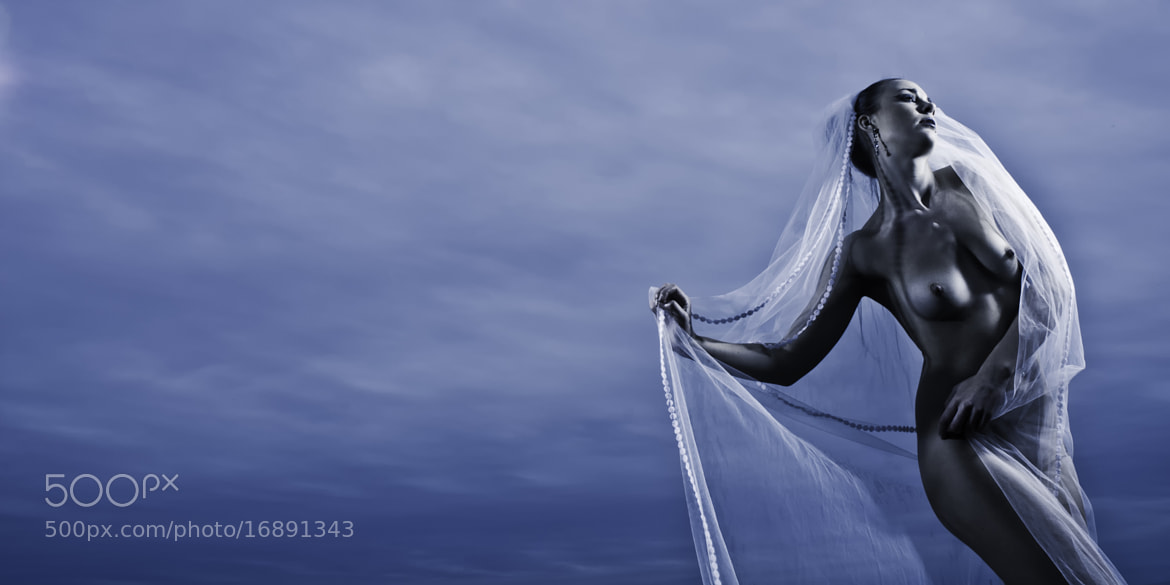 Photograph Blue Bride by John Denton on 500px