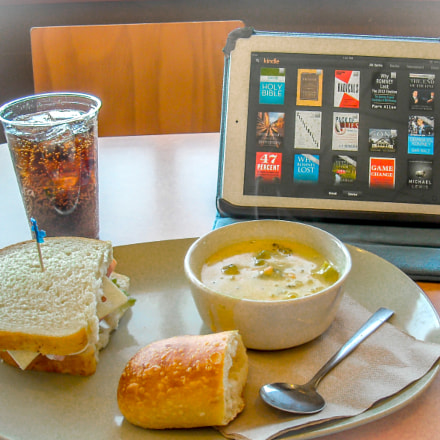 Any Other Panera Lunch, Nikon COOLPIX L18