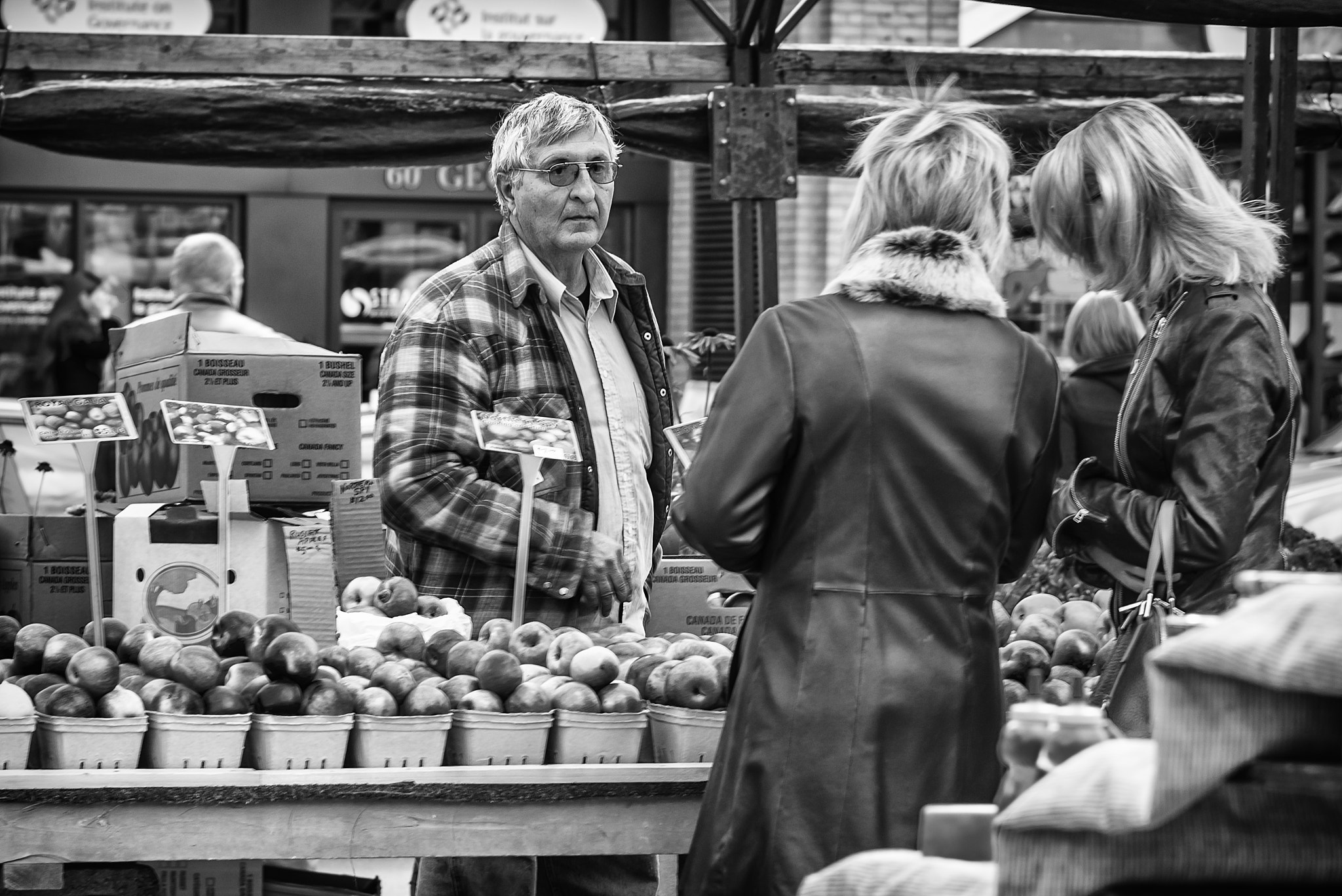 Photograph The Apple Seller by Philip Rice on 500px