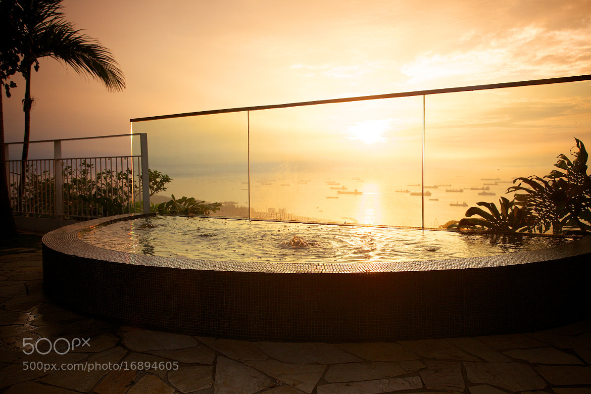 Photograph Sunrise Water Pool @ Marina Bay Sands Singapore by Sean Cheng on 500px
