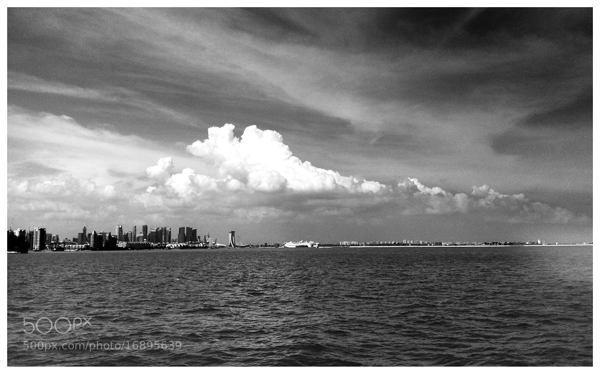 Photograph Stormy Singaporean Coastline - iPhone 4 by Sean Cheng on 500px