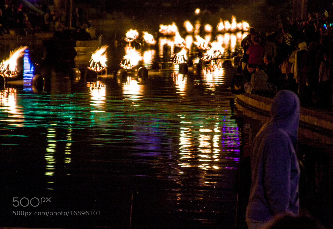 Photograph WaterFire by Mark W on 500px