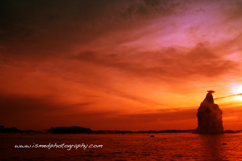 Photograph Sunset @ Sawarna Beach by Ismed Hasibuan on 500px