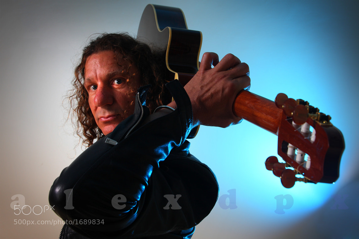 Photograph Steve - Guitar Soloist by Alex Atienza on 500px