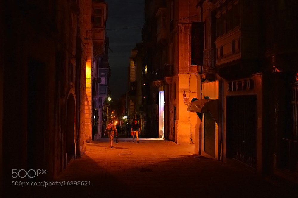 Photograph Streets of Valletta by Stefan Vella on 500px