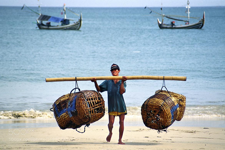 Photograph Fisherman - Bali by John Barker on 500px