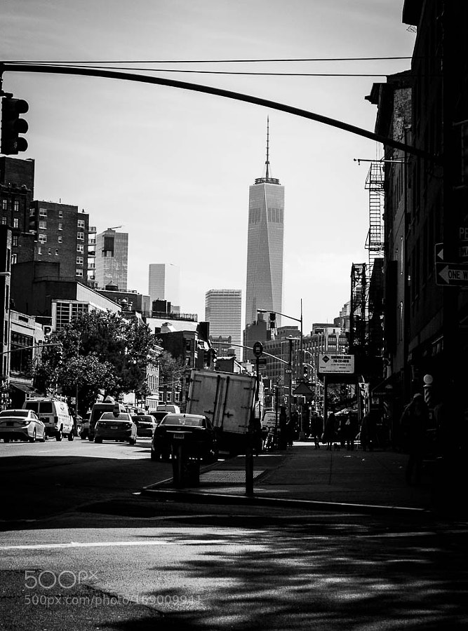 Freedom Tower on the street !