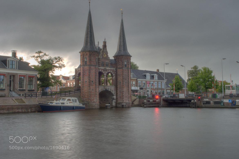 Photograph Watergate of Sneek (HDR) by Alexander van der Sar on 500px