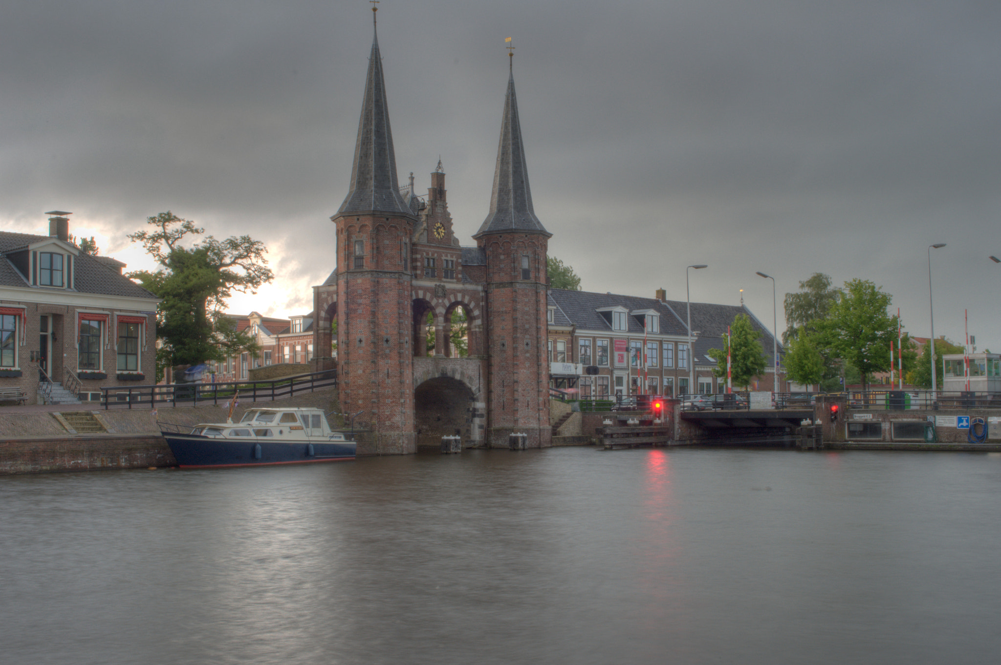 Photograph Watergate of Sneek (HDR) by Alexander van der Sar on 500px