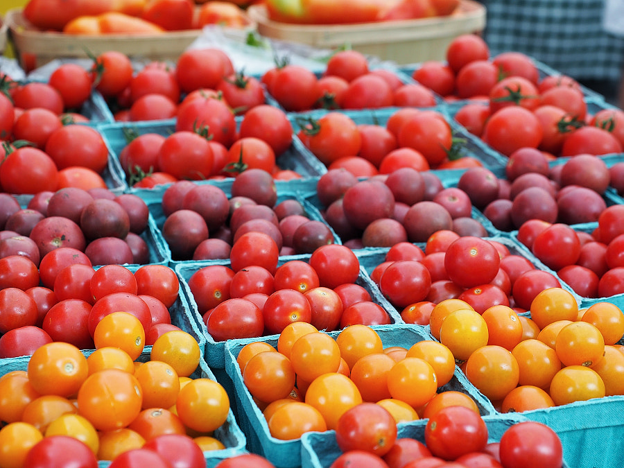 Tomatoes, because Summer by Nancy Lundebjerg on 500px.com