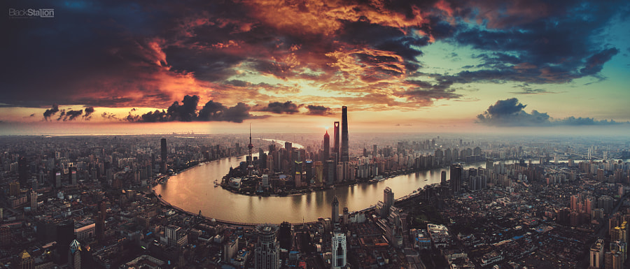 fire city by Black Station on 500px.com