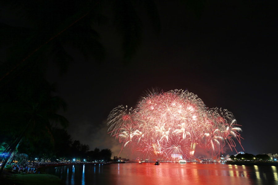 Singapore's National Day Parade 2016 Fireworks