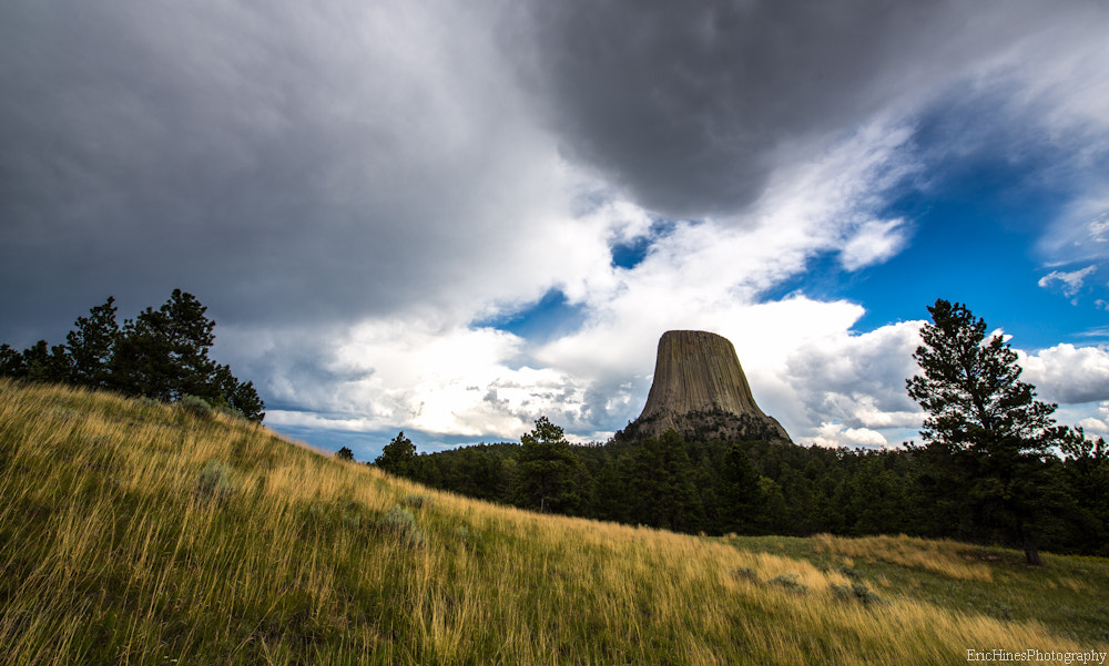 Photograph Storm Over Devils Tower by Eric Hines on 500px
