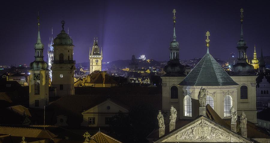 Prague's towers