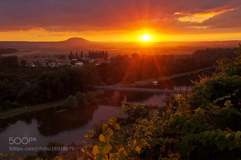 Photograph Sunset in Mělník by Ondřej Jirků on 500px