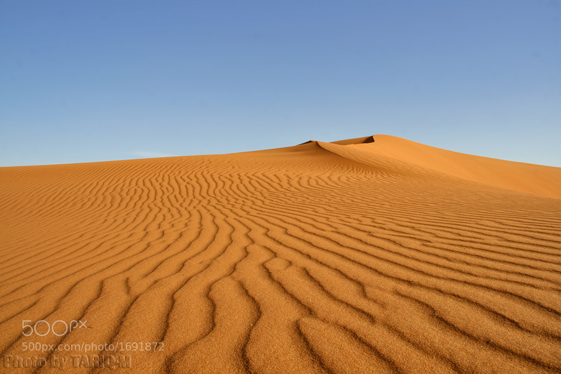 Photograph Sand Waves by Tariq Almutlaq on 500px