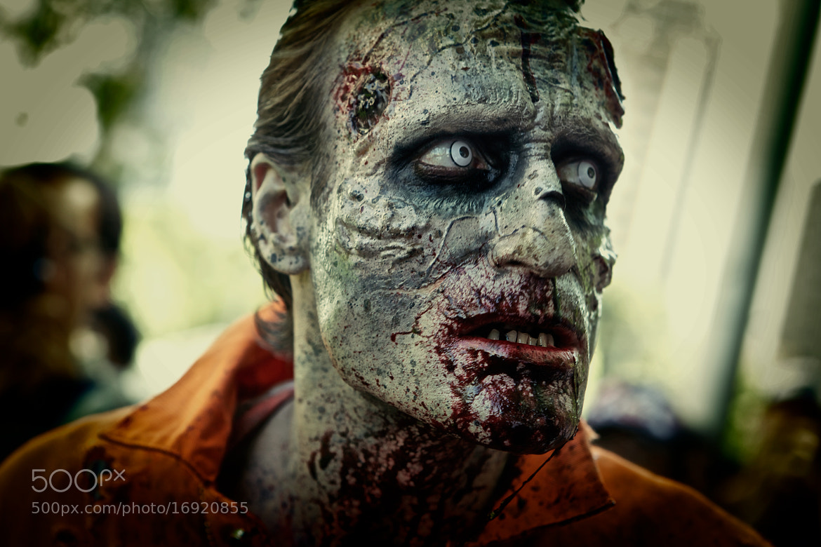Photograph Melbourne Zombie Shuffle 2012 by John Raptis on 500px
