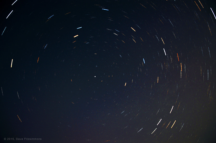 Star Trails by Dave Fitzsimmons on 500px.com