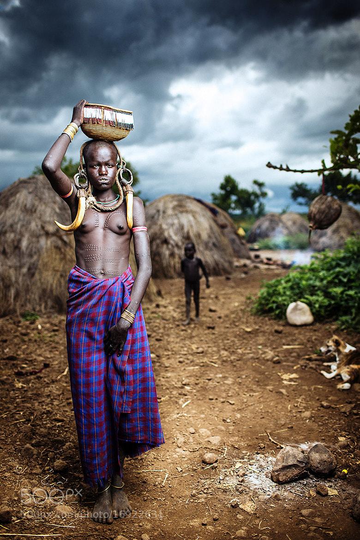 Photograph Arkore Berlalay - Mursi Woman by OZZO Photography on 500px