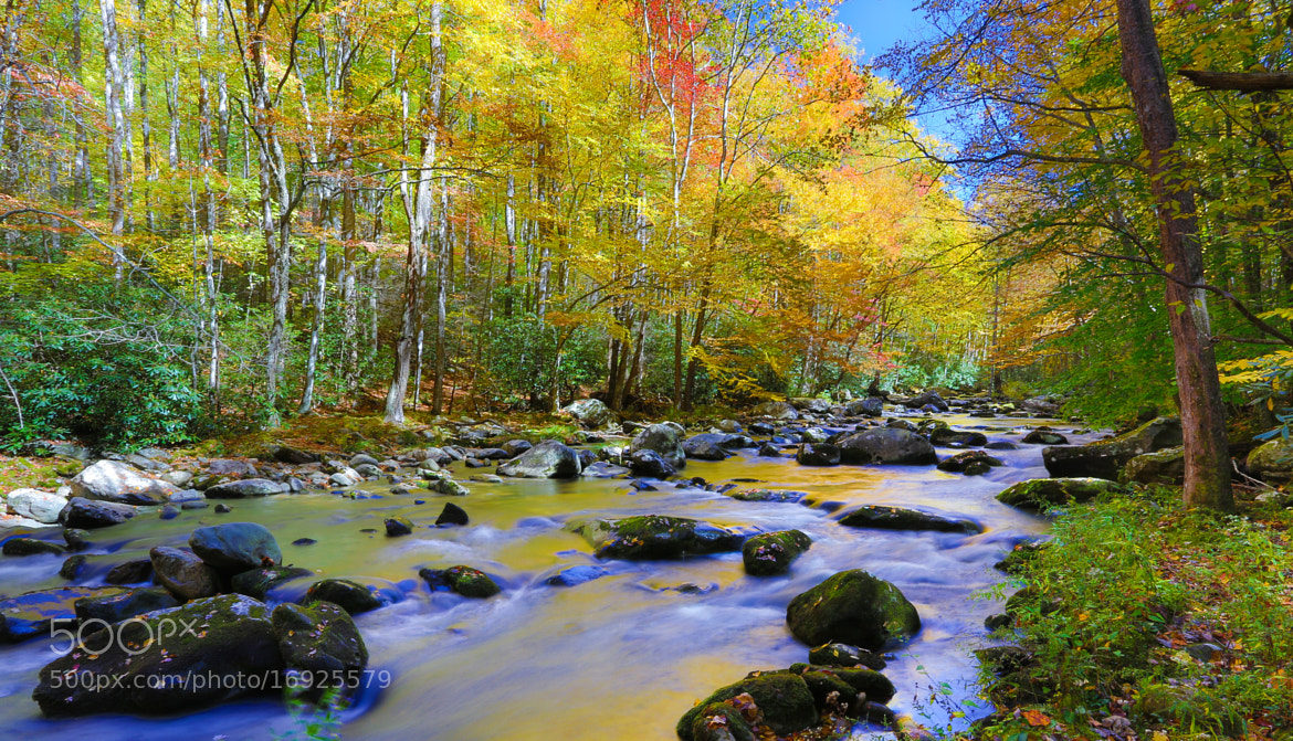 Photograph Colored River by George Bloise on 500px