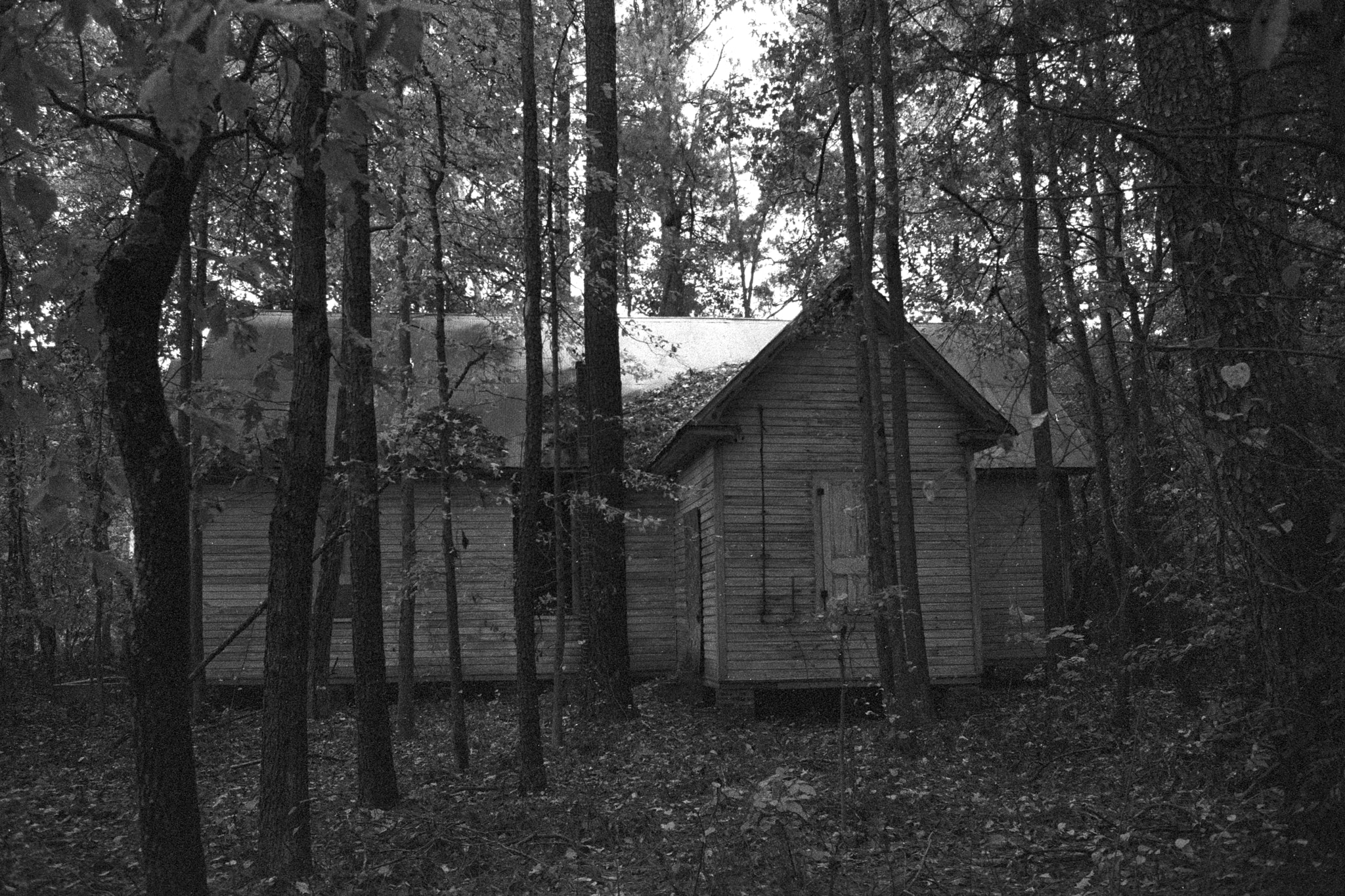Photograph Abandoned Church in the Woods, Southern Maryland by L.E. Miller on 500px