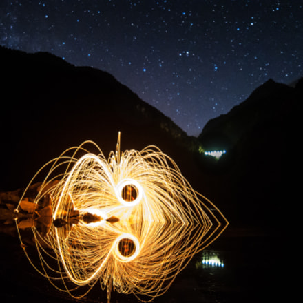 steel wool, Nikon D300S, Samyang AE 14mm f/2.8 ED AS IF UMC