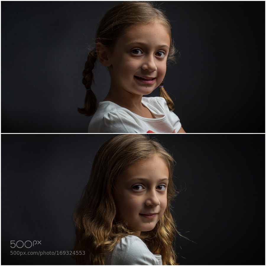 Pigtails Before & After