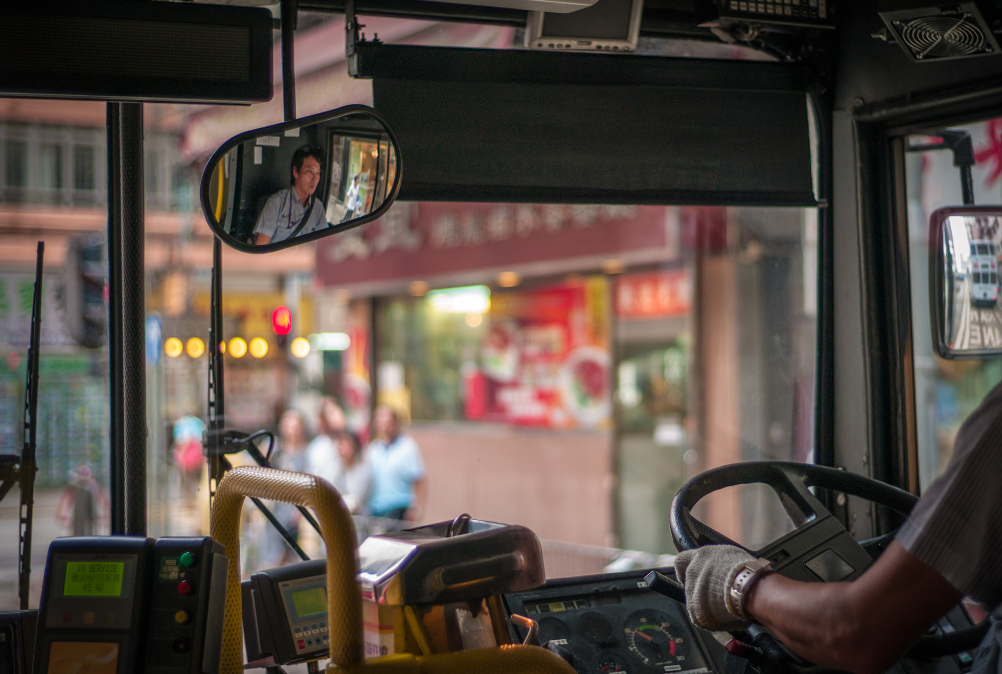 Photograph Bus Driver by Kenneth Chong on 500px