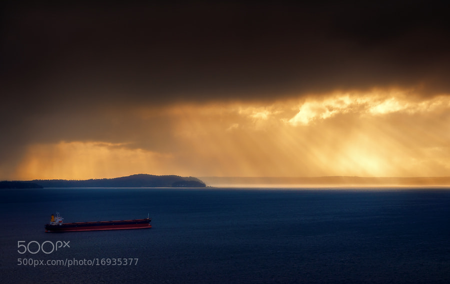 Photograph Across The Bay by Gabriel Tompkins on 500px