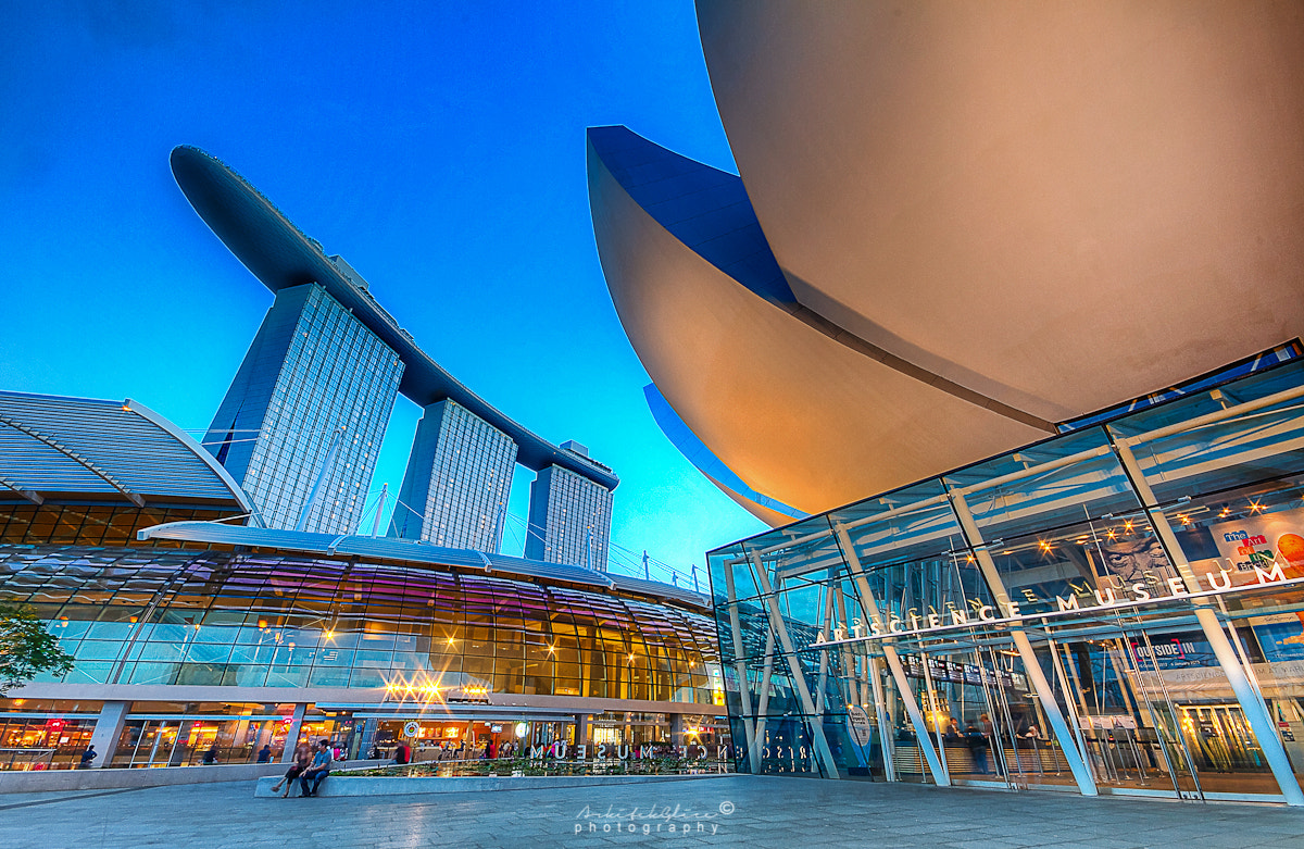 Photograph MBS & ArtScience Museum by Glice Galac on 500px