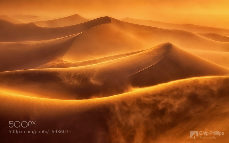 Photograph Death Valley Dune Storm by Chip Phillips on 500px