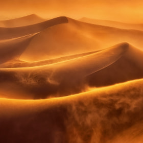 Death Valley Dune Storm by Chip Phillips (phillips_chip)) on 500px.com
