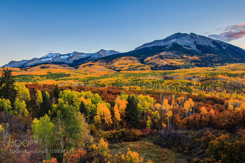 Photograph Autumn Range by Putt Sakdhnagool on 500px