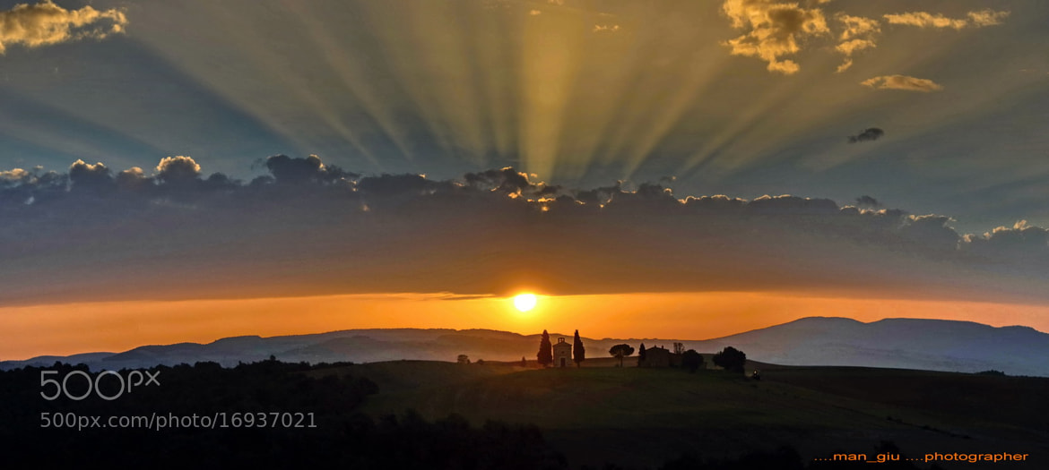 Photograph Vitaleta's church by Giuliano Mangani on 500px