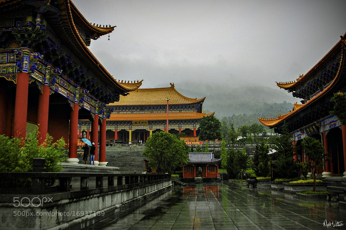 Photograph Temple in Da Li, China by Matt Watson on 500px