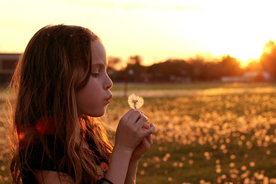 Making a wish by Steve Hallas on 500px.com